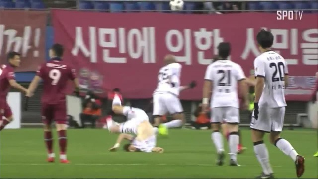 Lee Seung Mo dính chấn thương kinh hoàng