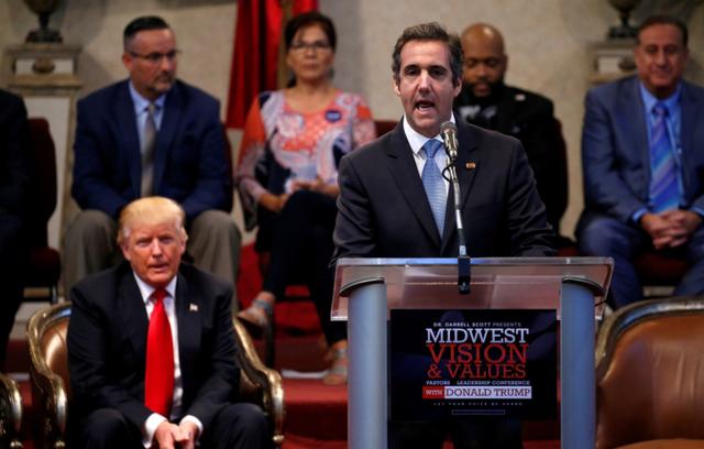 Ông Cohen từng là một trong những trợ tá thân thiết của ông Trump (Ảnh: NBC)