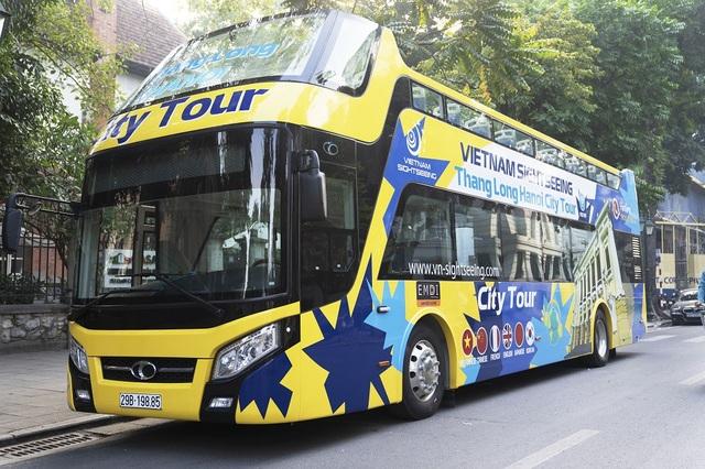 Tuyến buýt mới có tên gọi: Thăng Long - Hà Nội City Tour gồm 3 xe buýt mui trần với sức chứa khoảng 60 người/ xe. Đây là dòng xe được thiết kế đặc biệt thuận lợi cho việc ngắm nhìn cảnh quan thành phố từ trên cao.