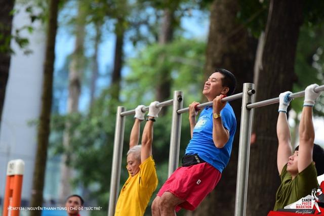 Ảnh đạt giải ba chủ đề Sức trẻ của thí sinh Nguyễn Thanh Tùng.