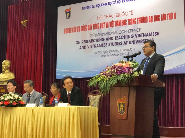 Ông Saadi Salama, Đại sứ Đặc mệnh Toàn quyền Nhà nước Palestine tại Việt Nam