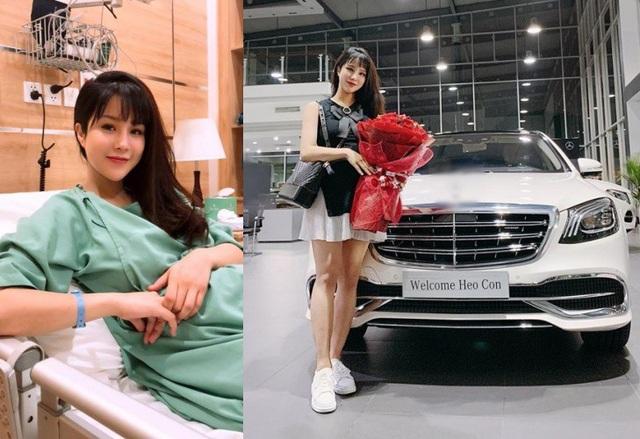 Theo chia sẻ của ekip Diệp Lâm Anh cùng Dân trí, ngày 1/11, Diệp Lâm Anh đã sinh thường một bé gái nặng 3kg. Trước đó, cô được ông xã đại gia tặng chiếc xe sang và trang trí phòng em bé như phòng công chúa để chào đón con đầu đời.