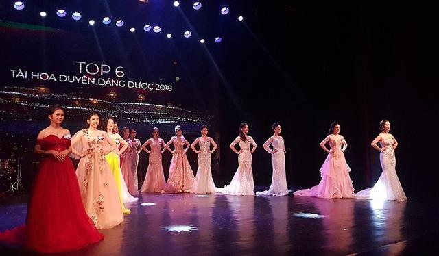 Toàn cảnh sân khấu tỏa sáng của 15 thí sinh xuất sắc nhất cuộc thi Tài hoa Duyên dáng Dược 2018