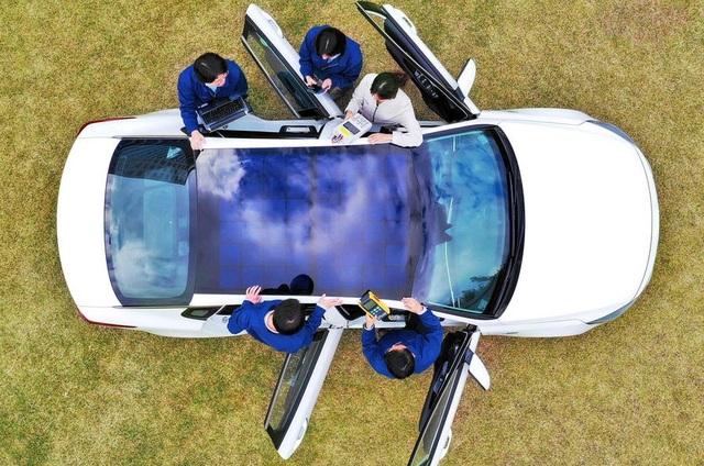 Xe Hyundai và Kia sẽ dùng năng lượng mặt trời - 1