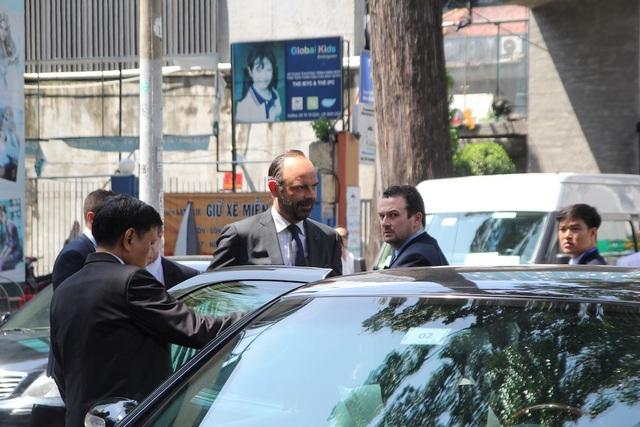Theo chương trình làm việc, chiều nay Bí thư Thành ủy TPHCM Nguyễn Thiện Nhân sẽ hội kiến Thủ tướng Pháp tại hội trường Thống Nhất.