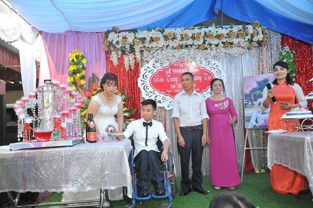 Tháng 5/2018 vừa qua, đám cưới của cả hai đã được tổ chức tại nhà trai Bắc Giang.
