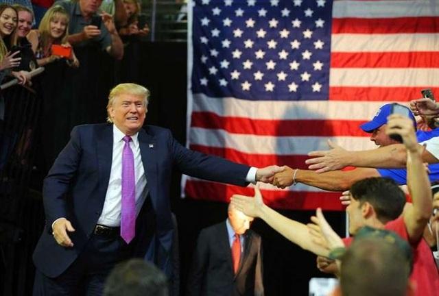 Tổng thống Mỹ Donald Trump. Ảnh: Seattlepi
