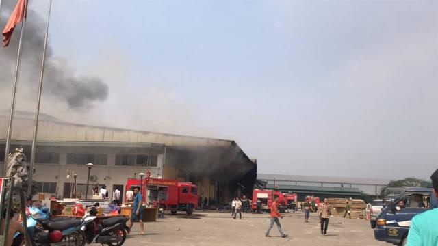 Hiện trường vụ hỏa hoạn (Ảnh: GC)