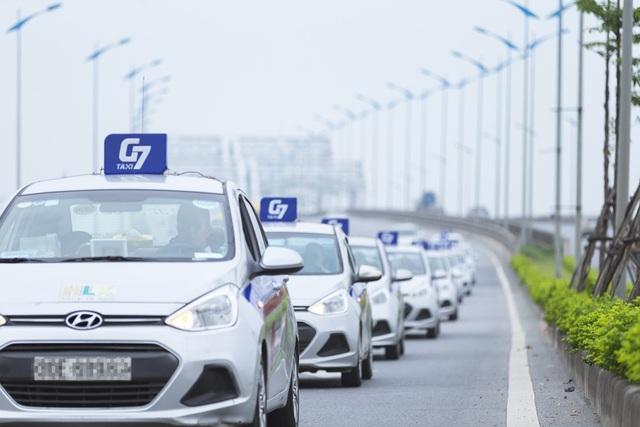 G7 taxi chính thức lăn bánh phục vụ khách hàng từ tháng 10/2018.