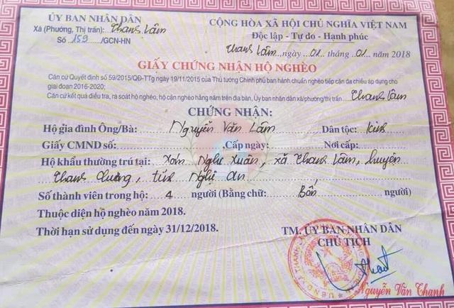 Nhiều năm liền, gia đình chị Châu là hộ nghèo của xã.