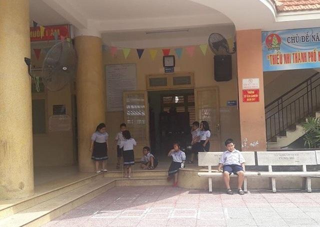 Học sinh Trường tiểu học Trần Văn Ơn, Tân Bình, TPHCM