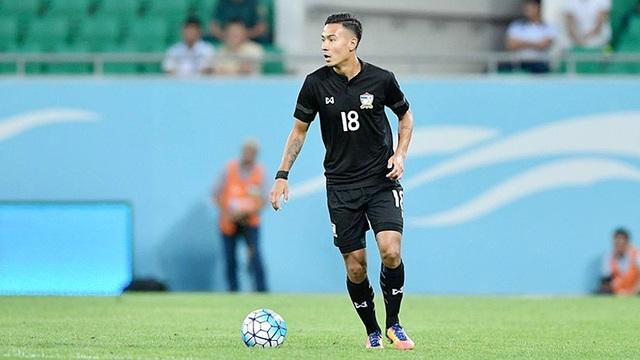 Với những cầu thủ Thái kiều sinh ra tại châu Âu như Kevin Deeromram, đội tuyển Thái Lan cải thiện đáng kể về mặt thể hình