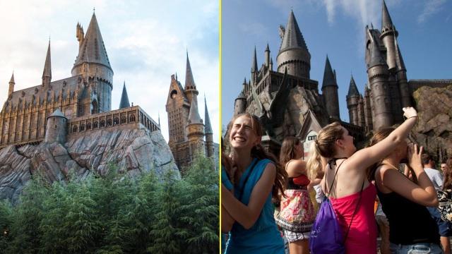Trường Hogwarts trên quảng cáo đẹp lung linh, nhưng trên thực tế thì không được như vậy…