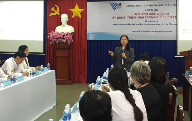 TS Nguyễn Thanh Phượng, Giám đốc quốc gia, ĐH Bang Arizona, Mỹ chia sẻ về Mô hình đại học mới của Mỹ và những gợi ý cho hệ thống đại học Việt Nam