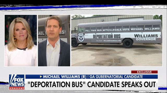 Chiếc xe trục xuất của ông Michael Williams (Ảnh: Youtube)