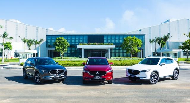 Thaco công bố giá bán xe Mazda màu sơn cao cấp mới - 1