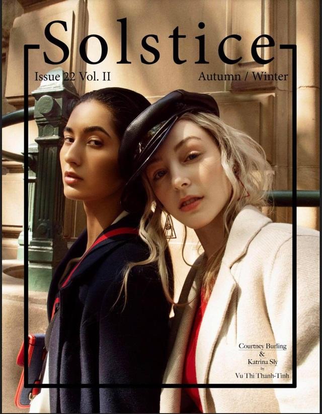 Hai thiết kế mới của H&T trên bìa báo Solstice