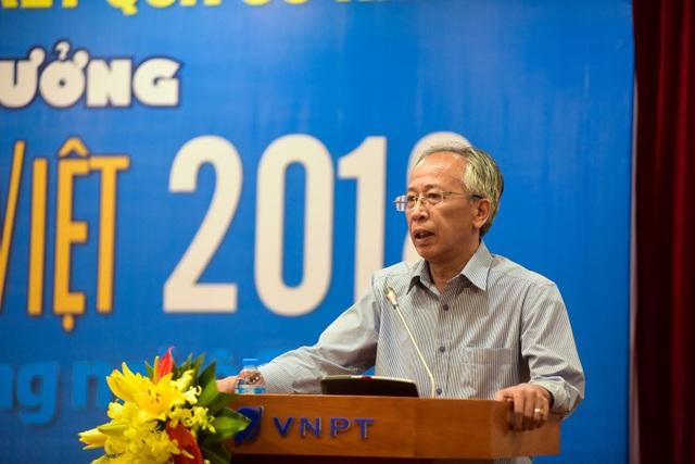 TS Nguyễn Long- Chủ tịch hội đồng Giám khảo.