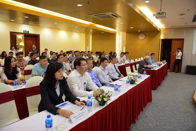 Đại diện nhà đồng tổ chức VNPT tại buổi họp báo.