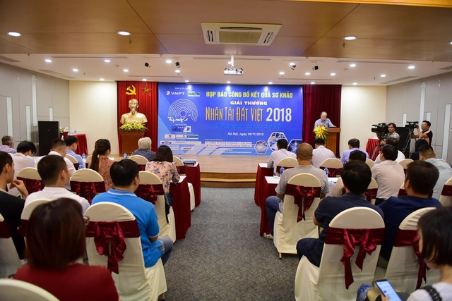Buổi họp báo công bố kết quả sơ khảo NTĐV 2018 diễn ra chiều 6/11 tại Hà Nội.