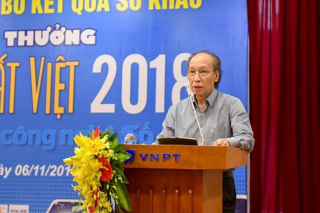 Nhà báo Phạm Huy Hoàn, Tổng Biên tập báo Dân trí, Trưởng ban tổ chức giải thưởng