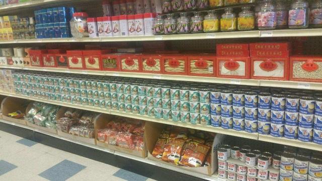 Sản phẩm sữa đặc có đường nhãn hiệu Driftwood của Vinamilk được bày bán tại các siêu thị ở Mỹ
