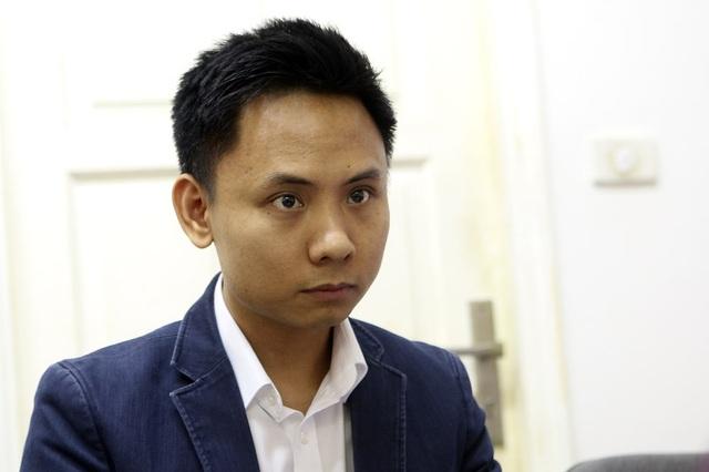 Giám khảo Trần Trọng Tuyến là thành viên trẻ nhất Hội đồng chấm thi Giải thưởng Nhân tài Đất Việt 2018.