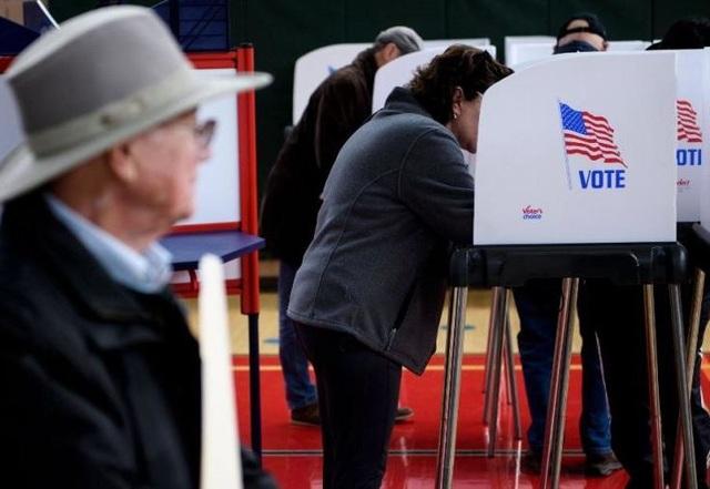 Cuộc bầu cử sẽ quyết định cán cân quyền lực ở quốc hội Mỹ và được coi là cuộc trưng cầu dân ý về nhiệm kỳ tổng thống của ông Trump. (Ảnh: Getty)