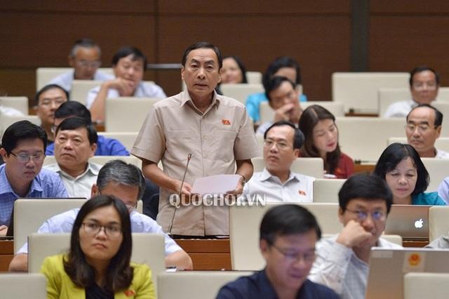 Đại biểu Phạm Văn Hòa cho ý kiến về Luật Công an Nhân dân sửa đổi
