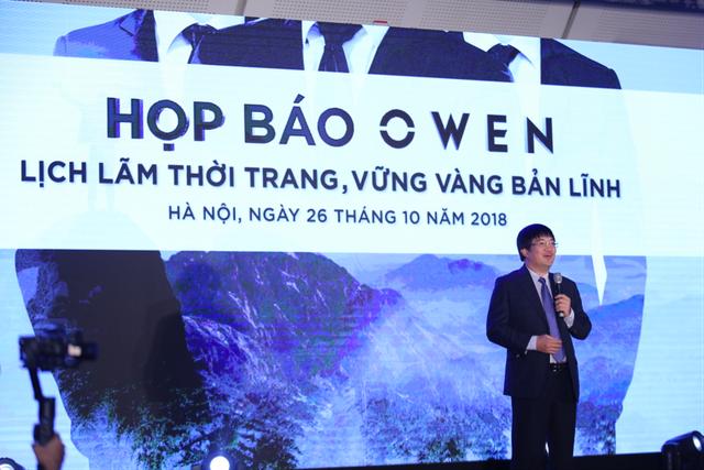Owen tuyên bố tầm nhìn và chiến lược thương hiệu mới trong Họp báo ngày 26/10