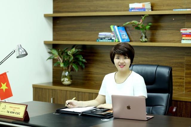 """CEO Tạ Kim Cúc: Từ bán hàng online thành CEO công ty mỹ phẩm Top đầu: """"Sản phẩm phải xuất phát từ tâm"""" - 1"""