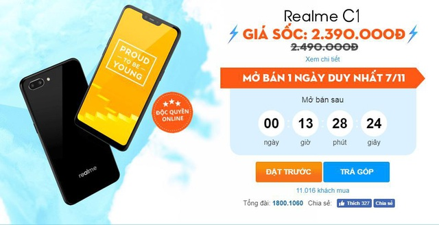 Chưa đầy 2 tháng, Realme đã tạo nền móng vững chắc tại thị trường Việt - 1