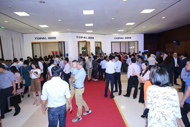 Topal Prima là bước tiến mới cho ngành nhôm Việt với nhiều thiết kế độ