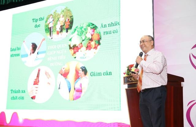 PGs.Ts Huỳnh Nguyễn Khánh Trang trình bày tại Hội thảo