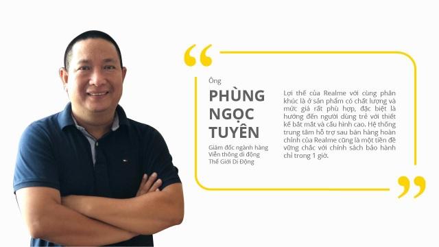 Ông Phùng Ngọc Tuyên, Giám đốc ngành hàng Viễn thông di động, Thế Giới Di Động