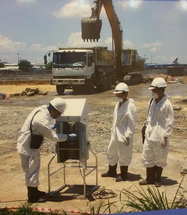 Xử lý dioxin tại Sân bay Đà Nẵng