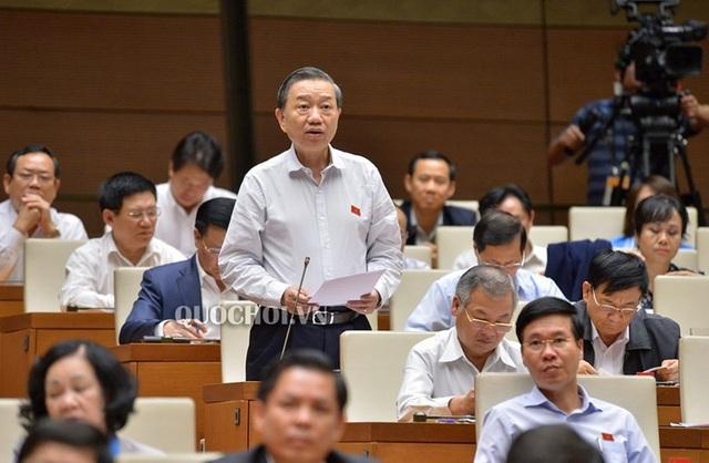Thượng tướng Tô Lâm - Bộ trưởng Bộ Công an
