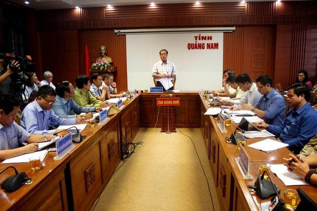 Tỉnh Quảng Nam tổ chức đối thoại với chủ đầu tư thủy điện Đắc Di 4 ngày 7/11