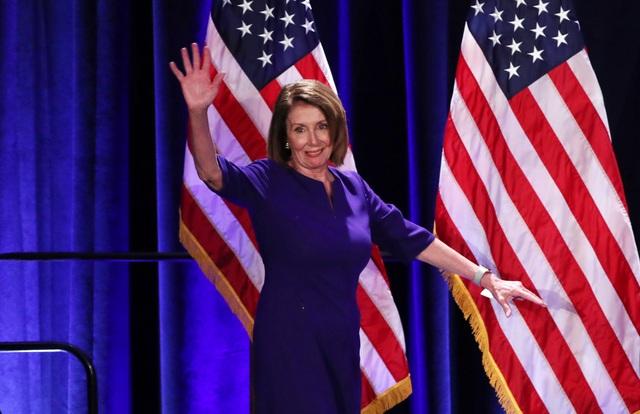 Bà Nancy Pelosi (Ảnh: Reuters)