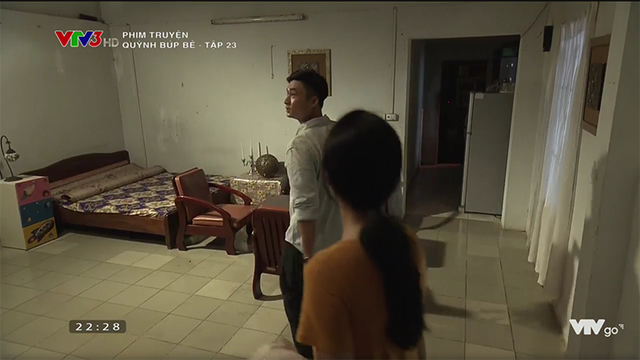 Ngôi nhà mà Nghĩa đưa Quỳnh đến tá túc trong tập 23 của Quỳnh búp bê.
