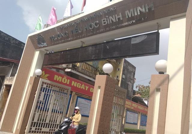 Trường tiểu học Bình Minh, TP Hải Dương.