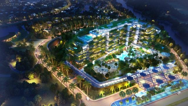 Không gian xanh tại Flamingo dẫn đầu xu thế nghỉ dưỡng hiện đại