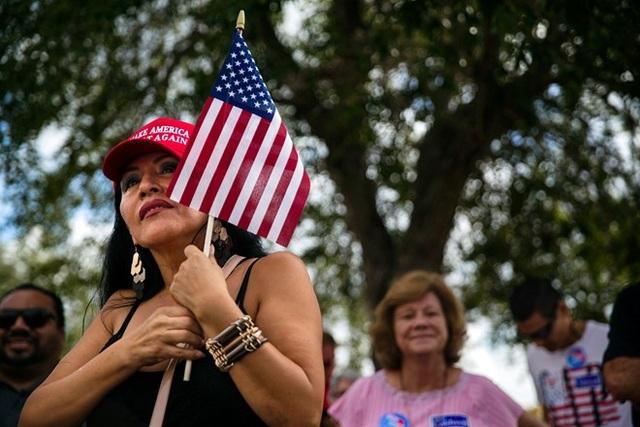 Cử tri Mỹ ngày 6/11 đã đi bầu cử giữa kỳ. (Ảnh: Reuters)