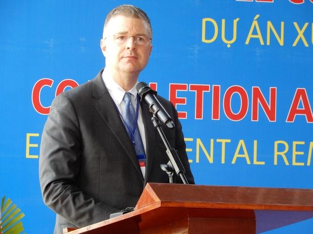Đại sứ Hoa Kỳ tại Việt Nam Daniel Kritenbrink phát biểu tại buổi lễ