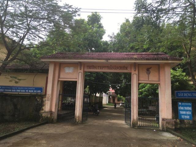 Theo kế hoạch, trường THPT Trần Ân Chiêm sẽ được giải thể.