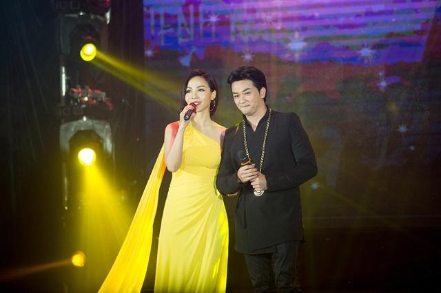 Khánh Loan và Lưu Minh Tuấn.