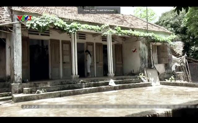 Nhà ở quê của Lan trong phim Quỳnh búp bê.