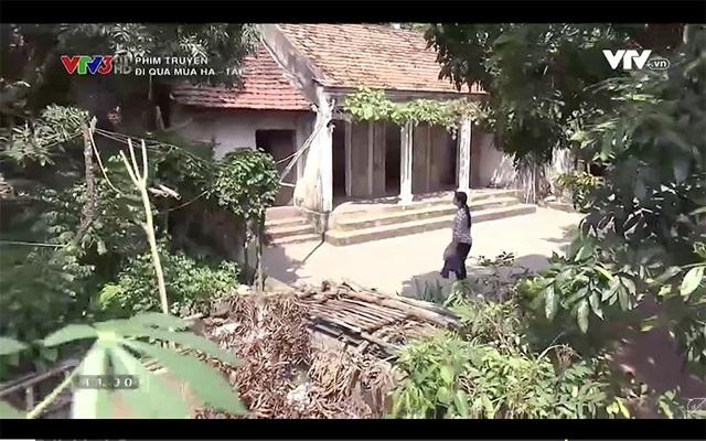 Nhà của Linh trong phim Đi qua mùa hạ.