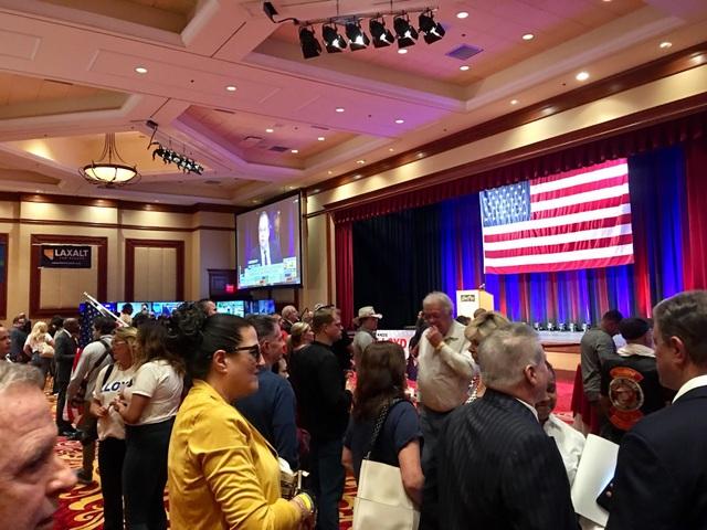 Các cử tri của đảng Cộng hoà tại Las Vegas, bang Nevada (Ảnh: An Bình)