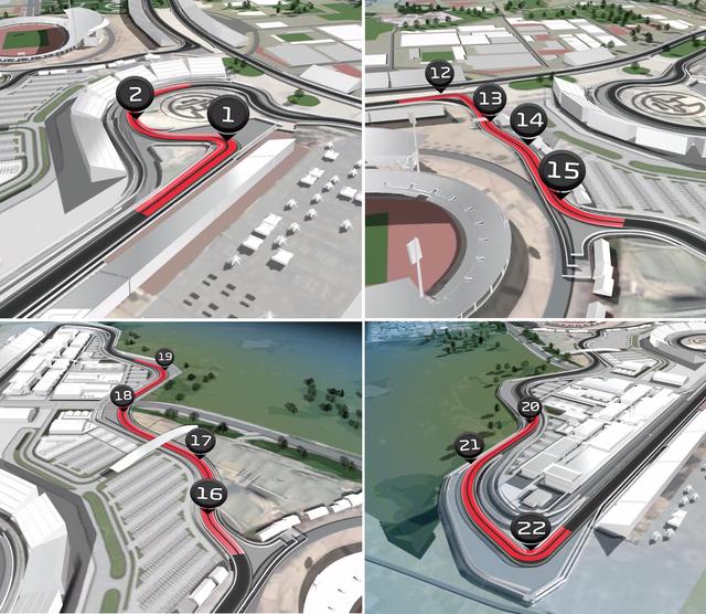 """Đường đua F1 tại Hà Nội sẽ """"độc đáo"""" nhất thế giới - 4"""